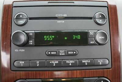 07 FORD F150 PICKUP   Radio Receiver AM-FM-6 CD-MP3