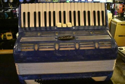 Scandalli accordeon 120B blauw