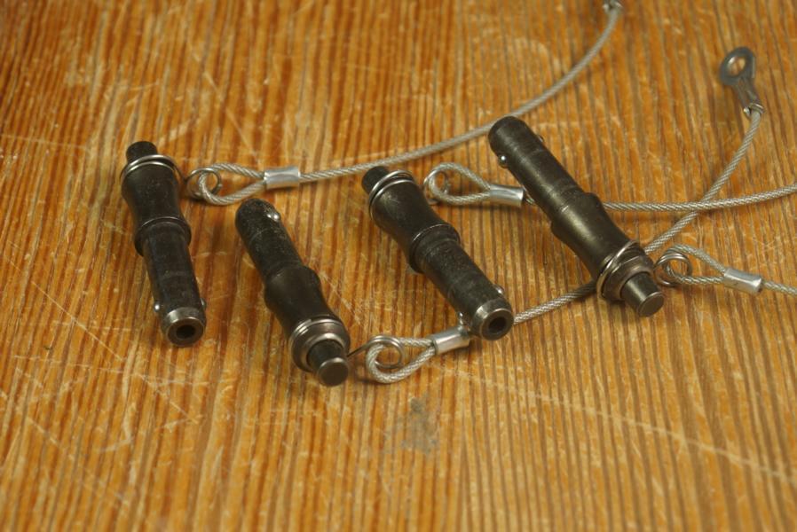 Kugelsperrbolzen für Line Arrays D10x20, 4 Stück