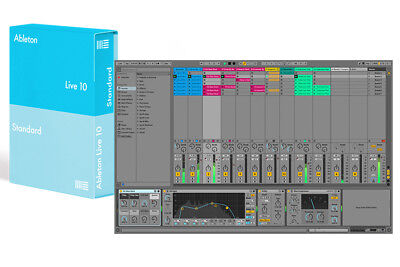 Ableton Live 10 Estándar Software Descargar Daw