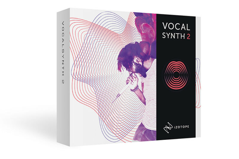 iZotope VocalSynth 2 vox synthesizer vocoder software download