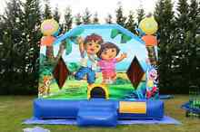 Dora the Explorer jumping castle for hire Hoppers Crossing Wyndham Area Preview