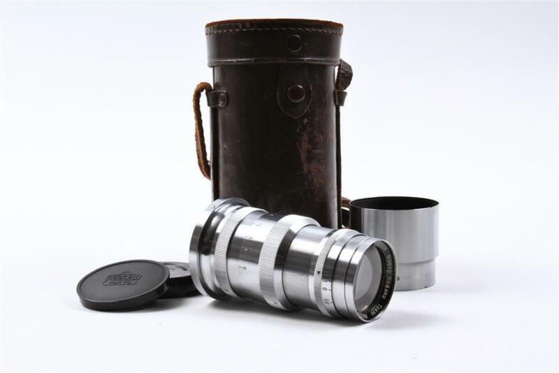 Nippon Kogaku Tokyo Nikkor 13.5cm f3.5 RFDR Lens MIOJ Nikon S - ULTRA RARE!