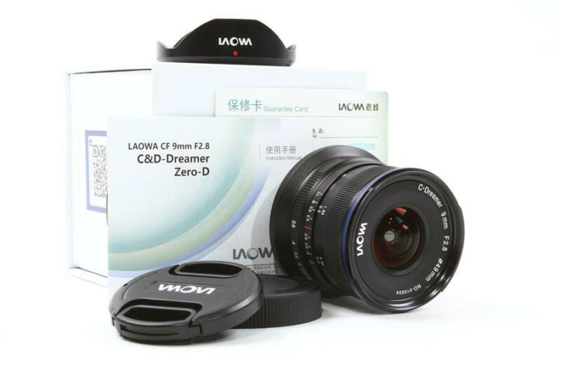 Used Laowa 9mm f/2.8 Zero-D Lens for Canon EOS-M Mount