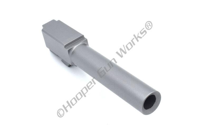 Hooper Gun Works Barrel for Glock 19 9mm HGW Stainless Steel - Flush Cut Crowned