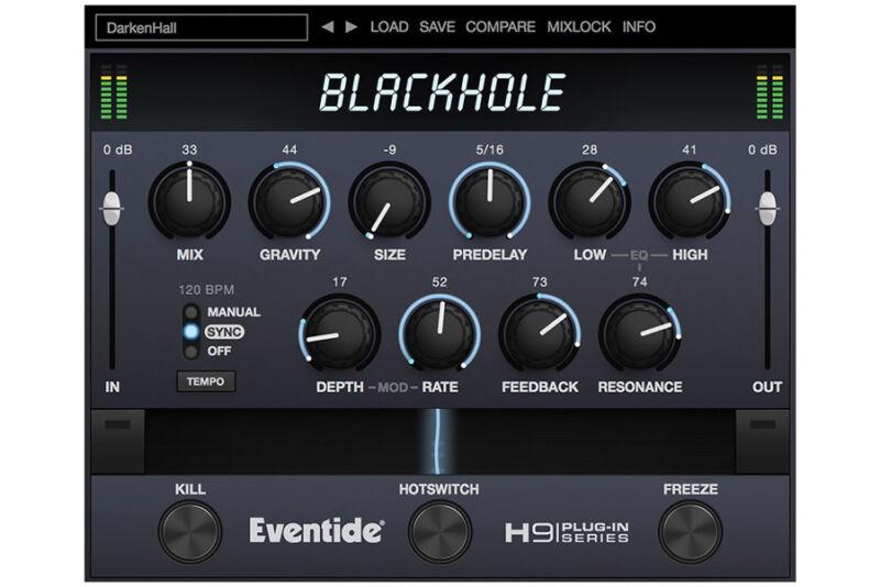 Eventide Blackhole, reverb software download
