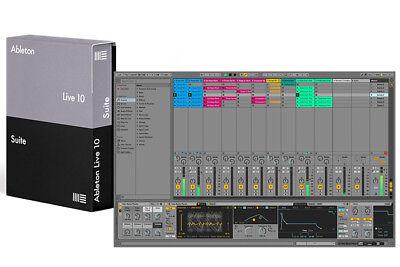 Ableton Live 10 Suite Upgrade from Live Lite Software Descargar