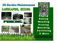 Gardener & outdoor furniture restoration