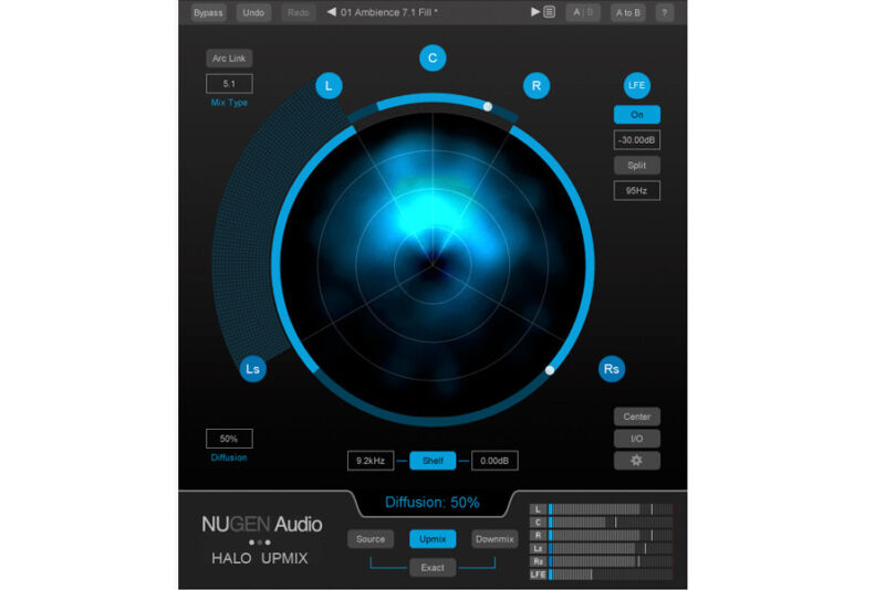 NUGEN Audio Halo Upmix 3D Immersive Extension software download