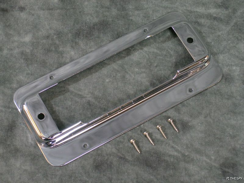 Rickenbacker Bass 4001 4003 Chrome Mounting Ring Bridge Pickup Plate Part