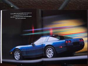 1992 Corvette dealer showroom catalog London Ontario image 3