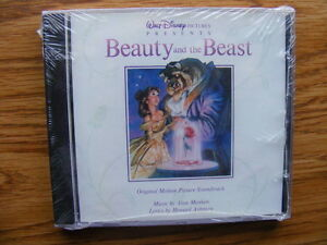 FS: Disney Lion King-Beauty & the Beast-Snow White Soundtrack CD