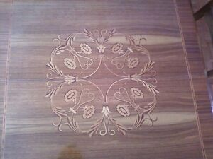 beautiful antique inlaid table and chairs Ottawa Ottawa / Gatineau Area image 2
