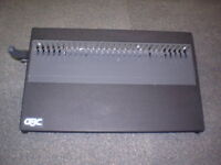 REDUCED Used GBC 16DB Manual CombBind Finisher $50.00