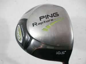 PING-RAPTURE-460CC-10-5-DRIVER-TFC-909D-REGULAR-FLEX-USED-RH