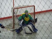 Ball Hockey Goalie Sub