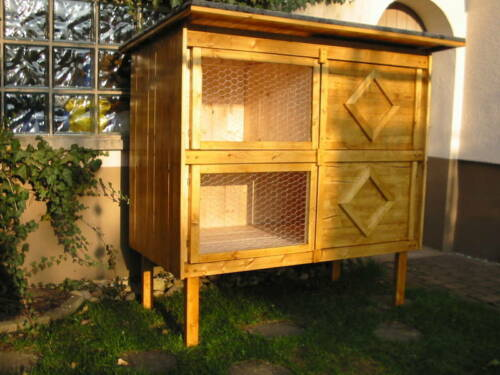 bauanleitung f r hasenstall kaninchenstall kleintierstall. Black Bedroom Furniture Sets. Home Design Ideas