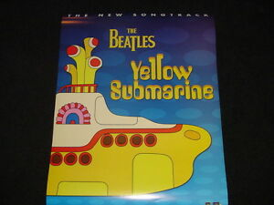 Beatles Yellow Submarine 2-sided 1999 Poster