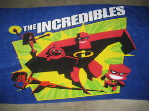 BRAND NEW - The Incredibles Bath/Beach Towel