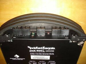 Rockford Fosgate Punch Amplifier 400x4 Trans-Ana (Car Amp) West Island Greater Montréal image 2
