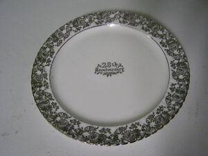25th Anniversary Plate