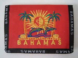 Bahamas Wallet - Red