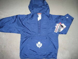 BRAND NEW - Toronto Maple Leafs Packaway Jacket - Size 8