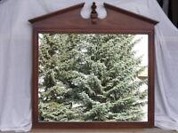 Solid Wood Accent/Hallway Mirror