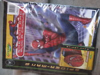 BRAND NEW Spiderman Sketch Pad and Crayons