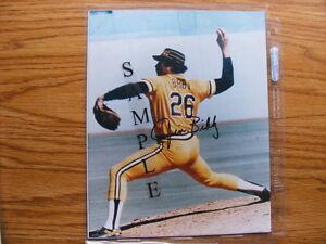 FS: Jim Bibby (Pittsburgh Pirates) 8x10 Autographed Photo London Ontario image 1