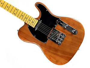 Stellah T Style Electric Guitar (Deep Blonde) - Alderwood Body, Maple Neck - New