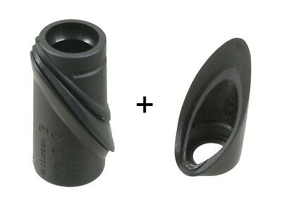Mercedes R129 Genuine Antenna Seal Set- Upper And Lower on Sale