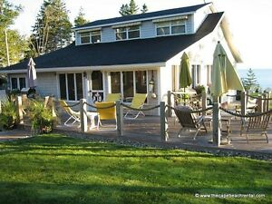 Spectacular Oceanfront Cottage Rental - Sleeps 8 - Acadian Coast