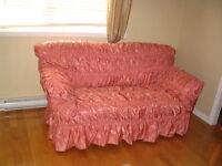 couvertures pour sofas 3, 2 et 1 places  ***NEGOCIABLE***