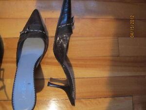 3 souliers pour femme à talon, size 7 1/2 West Island Greater Montréal image 2