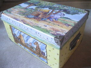 BRAND NEWClassic Winnie the Pooh Decorative Box (Large) - Yellow