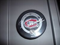 Yvon Cournoyer Autographed NHL Montreal Canadien Puck