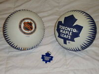 2 Toronto Maple Leaf Basketballs for $25 with Leaf key chain