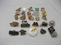 25 Different Collector Pins
