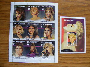 "FS: 1991 ""Madonna"" Stamp Sheets Set"