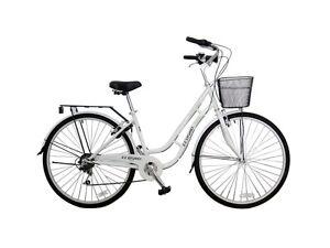 700C New Ladies Women Shopper City Road Bicycle Bike 7 SP, 17