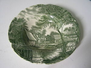 Johnson Bros.Watermill Pattern Soup Bowl