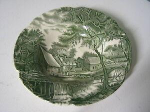Johnson Bros.Watermill Pattern Soup Bowl