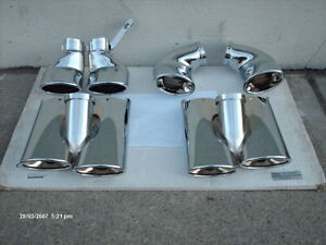 CHROME TAIL-PIPES for MERCEDES-BENZ