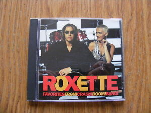 "FS: 1994 (Cema) Roxette ""Favorites From Crash! Boom! Bang! 10-Tr"