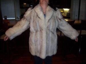 Ladies Norwegan Blue Fox coat