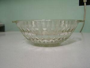 Depression Glass Bowl - Windsor Pattern