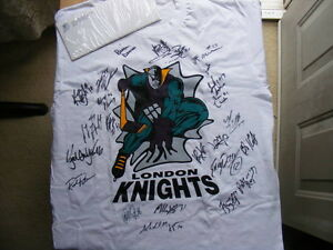 "FS: 1997-98 London Knights (OHL) ""Autographed"" Shirt with COA London Ontario image 1"