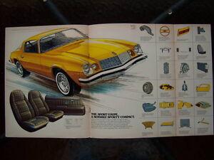 1975 Chevrolet Camaro dealer showroom catalog London Ontario image 2