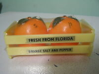 Vintage Florida Orange Salt and Pepper